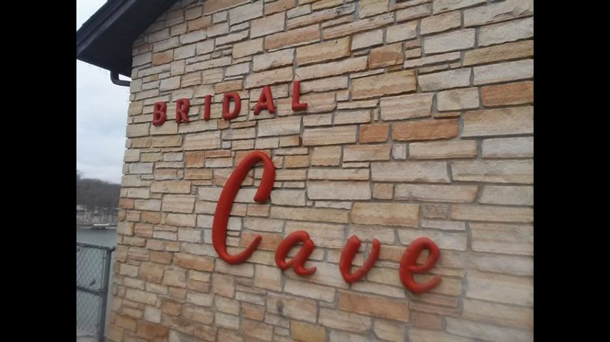 Bridal Cave in Camdenton where couples from all across the globe come to exchange wedding vows