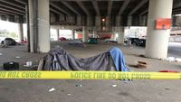 Man killed at homeless encampment in New Orleans