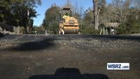 Flood-damaged roadways in Denham Springs finally getting repaired