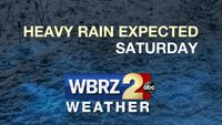 Strong storm system to cross the area Saturday
