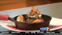 Chef of the Month: Stab's Prime Filet topped with butter and grilled shrimp