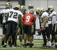 Saints to hold open practices during minicamp