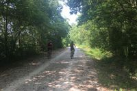 300 bicyclists ride across Missouri this week on Katy Trail