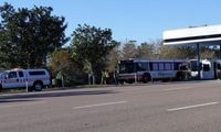 15 people with minor injuries after Disney World bus crash