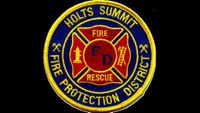 Resident evacuates home fire in Holts Summit