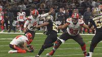 Saints sloppy in 21-18 win over Browns