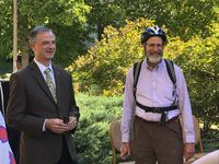 MU honors Nobel Prize Professor with bike space