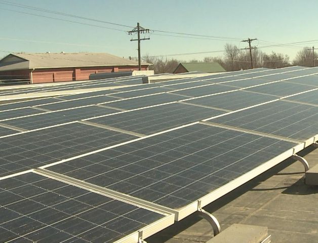 Exceptional ELDON   Eldon Furniture Took Its First Step In Going Green By Turning On  The 80 Solar Panels That Are Installed On The Companyu0027s Roof For The First  Time On ...