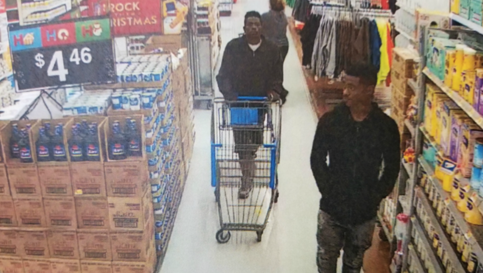 Hammer-wielding robbers smash glass cases at Wal-Mart, chase away