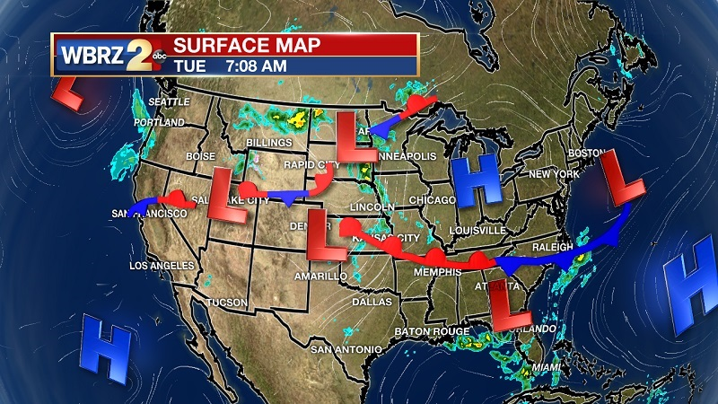 Potential tropical system could bring heavy rainfall this