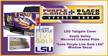 Purple and Gold Sports Shop