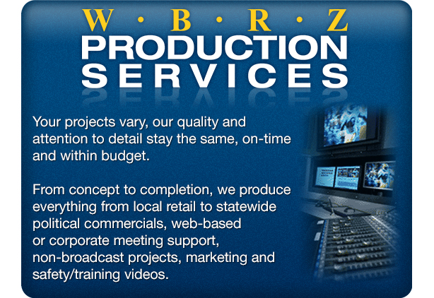 Production Services landing page