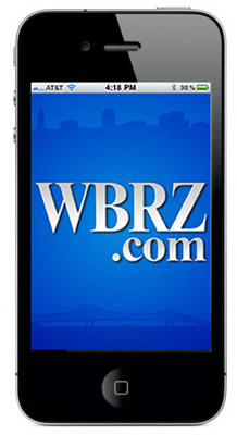 WBRZ iPhone App Screenshot