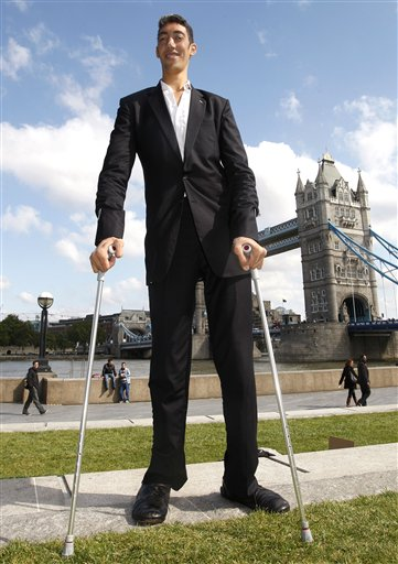World's tallest man may have stopped growing