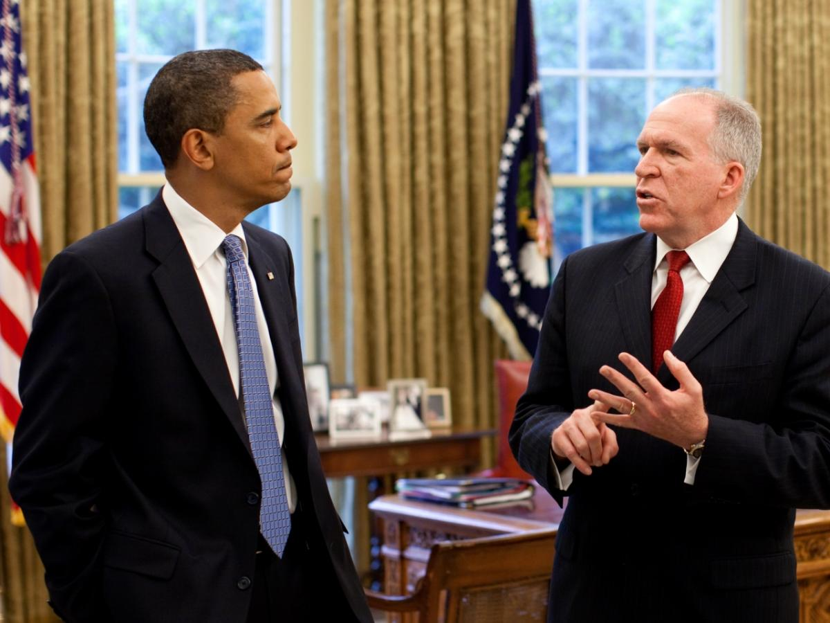 Image result for obama john brennan