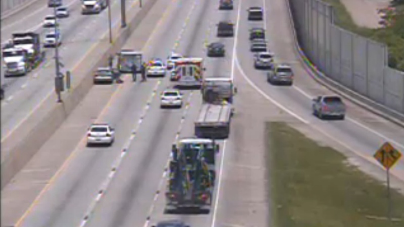 Acadian Thruway accident causes heavy traffic on I-10