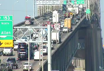 All lanes now open on I-10 W on the Mississippi River Bridge