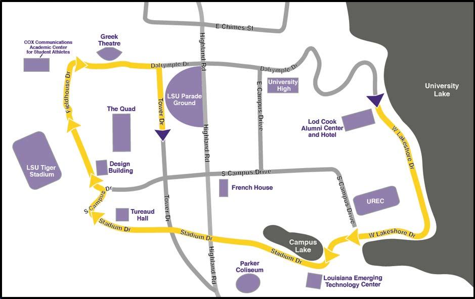 Jam Packed Schedule Of Lsu Homecoming Weekend Events Awaits Students