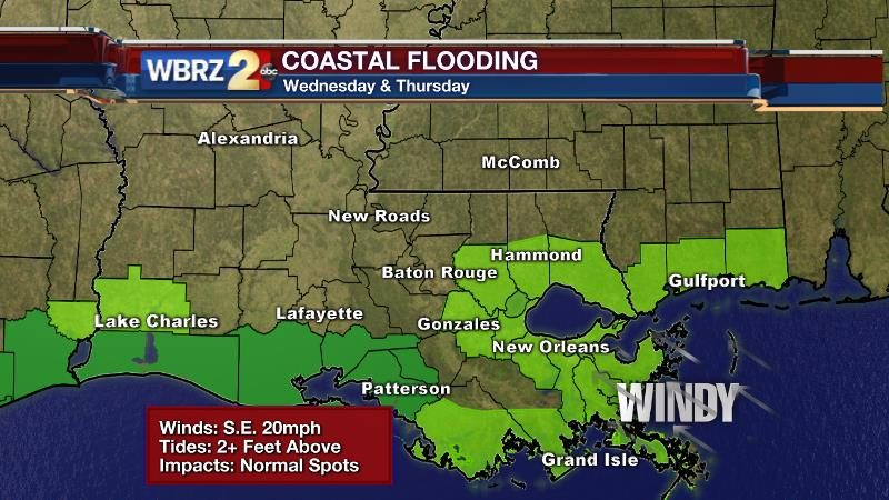 Increased threat for severe weather today, heavy rain tomorrow