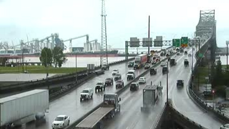 Expect heavy traffic delays after wet weather - Baton Rouge