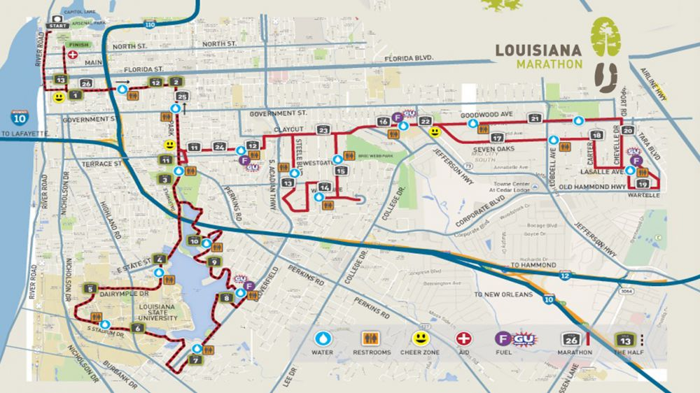Runners Speed To Baton Rouge For Louisiana Marathon