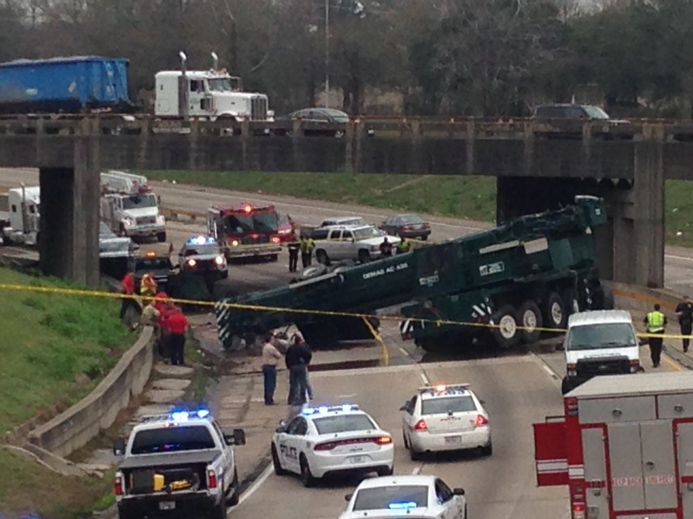 I-110 South reopens after deadly crash