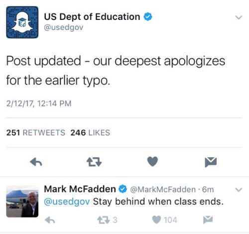 news world dept education spelling