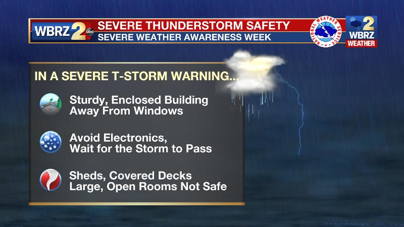 Severe Weather Awareness Week   The Weather Whisper   Thunderstorm Warning