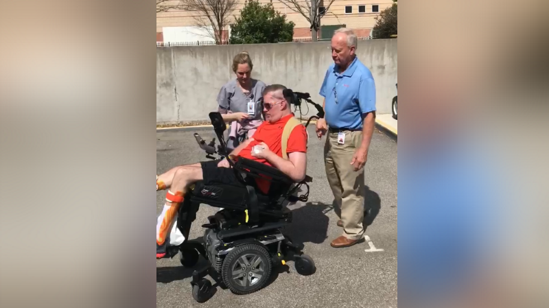 Trends 2017 baton rouge - New Video Shows Deputy Nick Tullier Operating A Wheelchair