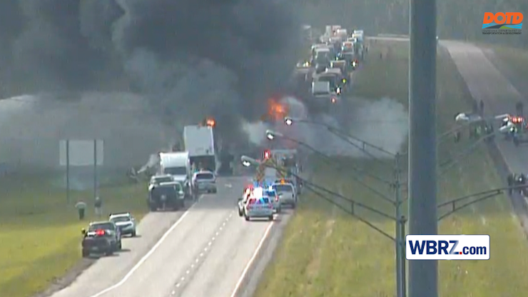 Details released of deadly, fiery crash on I-10