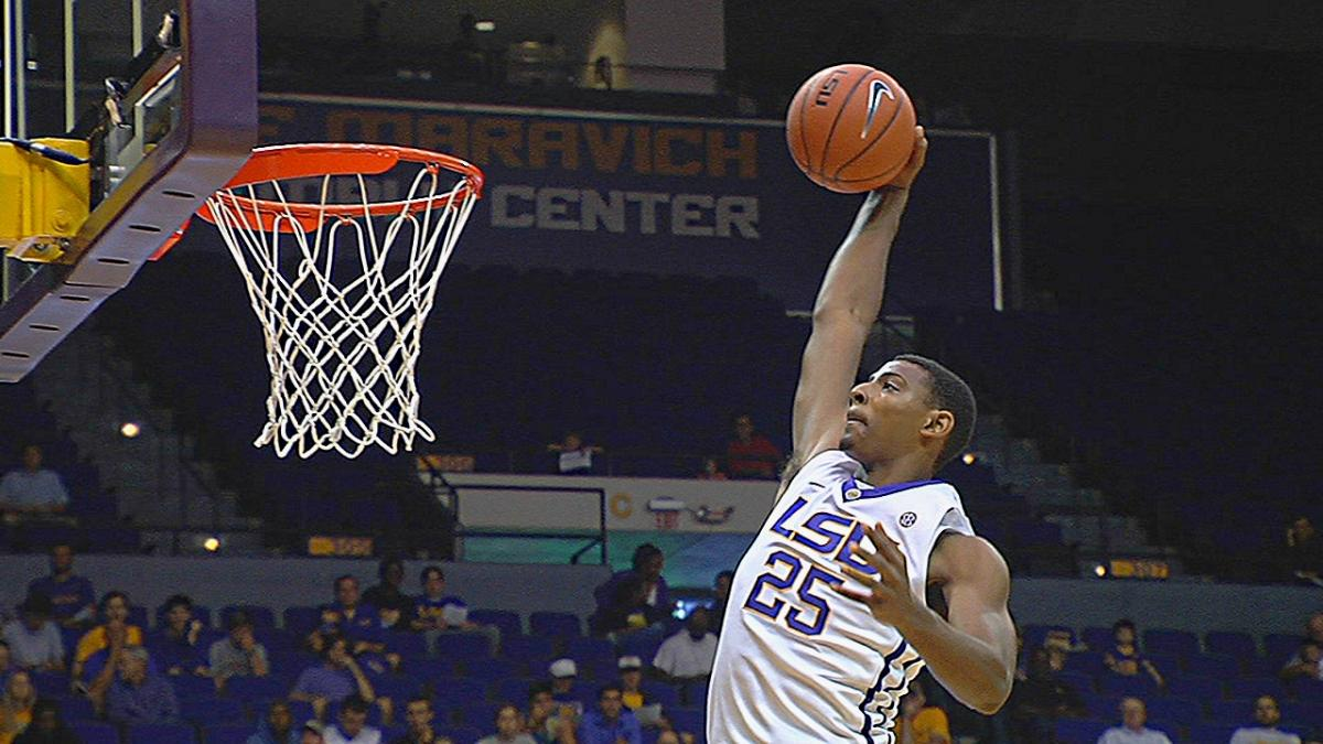 Jordan Mickey LSU basketball