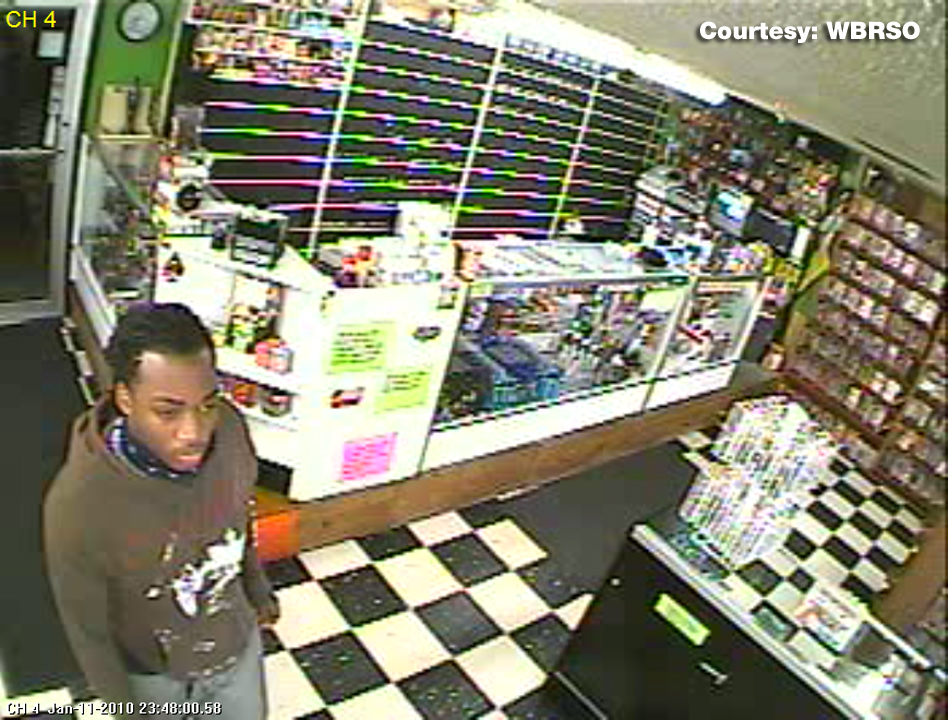 ... are on the lookout for a man wanted for robbing the Adult Video Store in ...