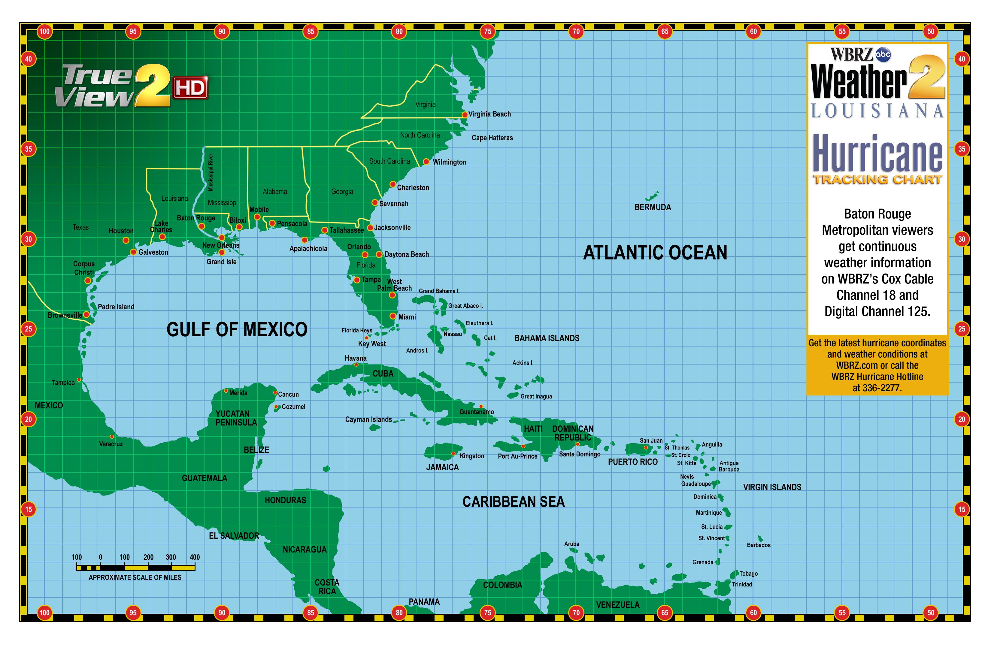 WBRZ News  Louisiana  Baton Rouge LA True View Radar - Map of united states weather forecast
