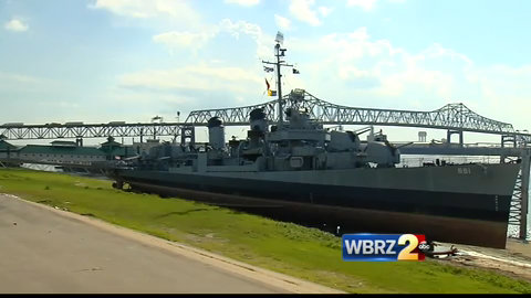 USS KIDD faces more problems with the state   WBRZ News 2 Louisiana : Baton Rouge, LA  