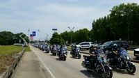 WATCH: Procession for fallen officer makes its way through Baton Rouge Tuesday