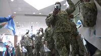 Hospital throws second line for Navy personnel who helped fight coronavirus in Baton Rouge