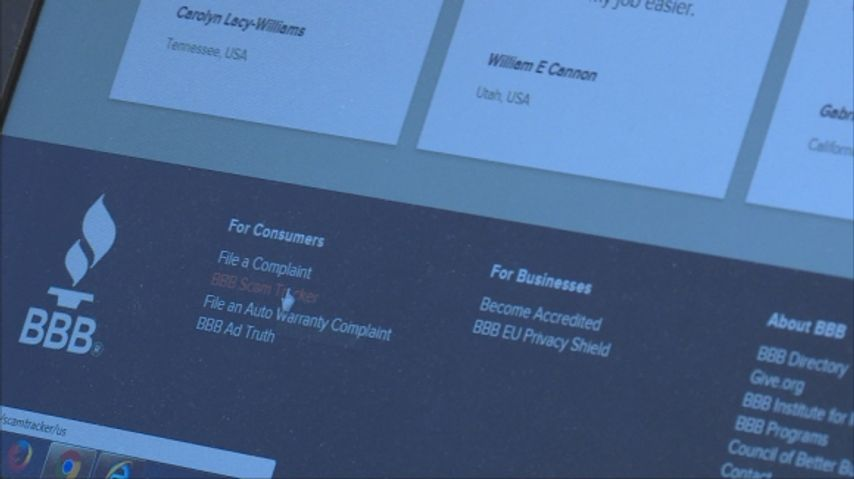 The Better Business Bureau offers a scam tracker that shows what scams are active in your area.