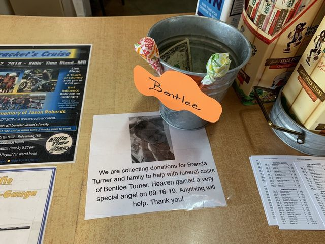 This fundraiser is set up at the Double L's County Store, where Bentlee's mother works. Along with the GoFundMe, Belle has come together to assist the Turner family.