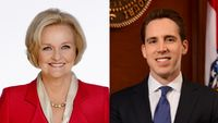 Story image: Tight contest expected between McCaskill and Hawley; polls, donations revealing
