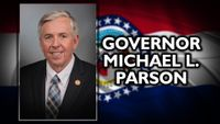 Story image: Parson's use of state plane renews controversy over gubernatorial travel