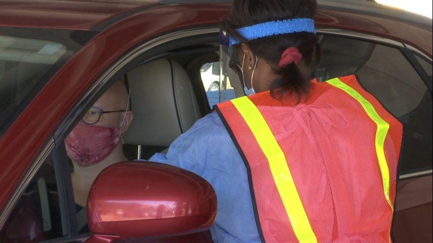 Baton Rouge drive-thru flu shot clinic serves as test run for potential COVID vaccine distribution