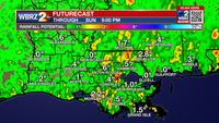 Friday PM Forecast: Rain still lingers through the weekend