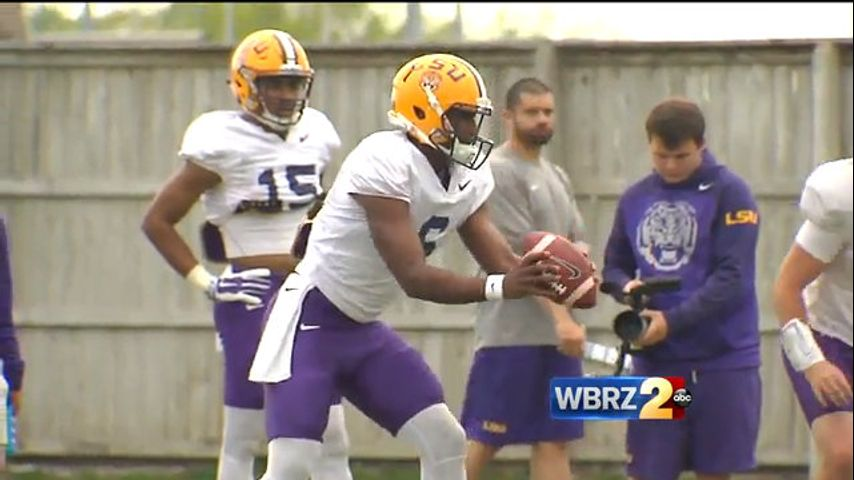 Tiger unleashed: LSU lets Brandon Harris play his game