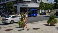 Self-driving shuttle debuts in high-traffic Virginia spot