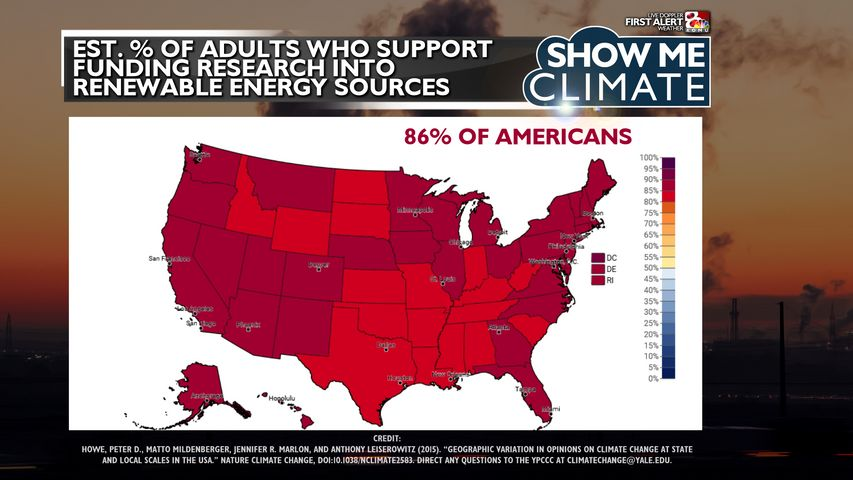 Support for renewable energy is so strong researchers say we've reached a