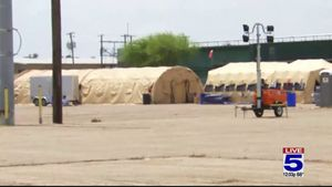 McAllen relocating temporary migrant shelter McAllen relocating temporary migrant shelter