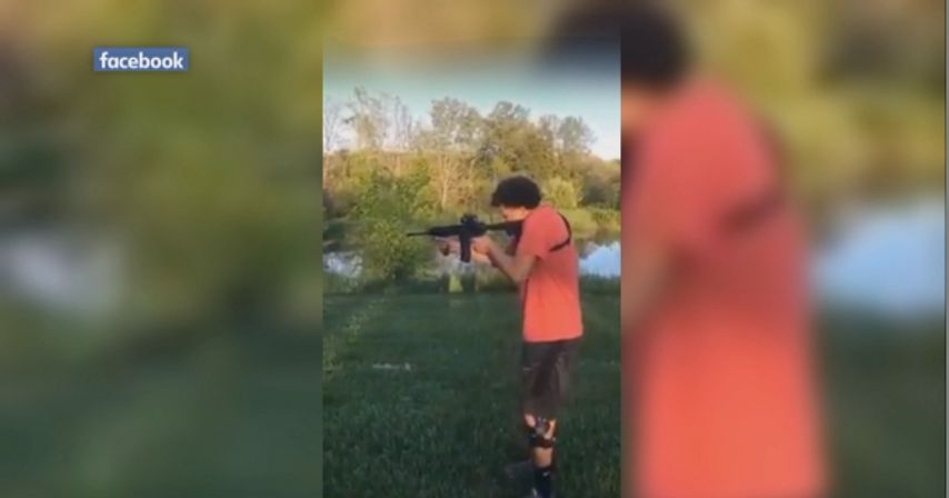 Video shows Fulton men shooting turtle for target practice