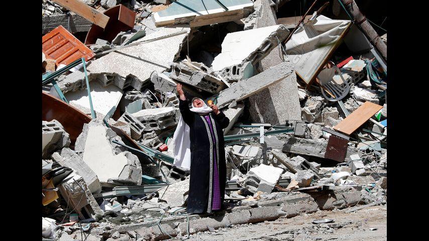 Image Israel kills 42 in Gaza as Netanyahu warns war will go on