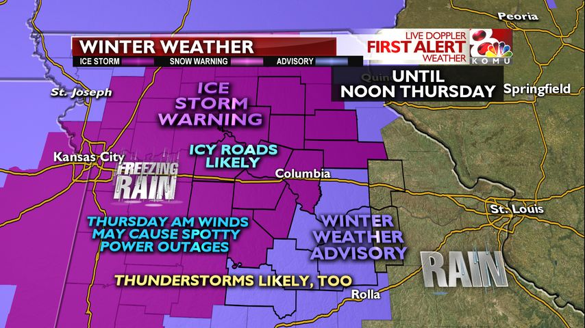 UPDATE: Ice Storm Warning continues