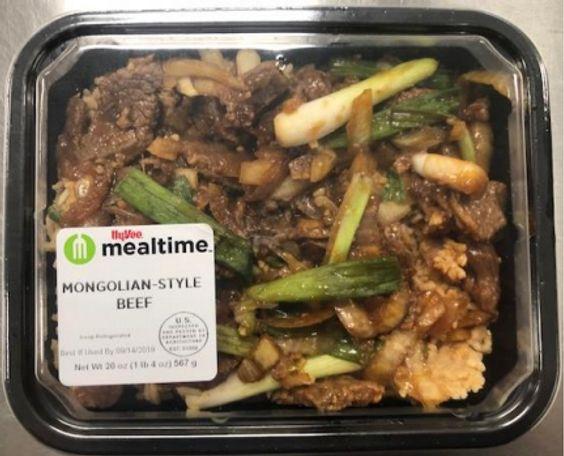 Hy-Vee Mongolian Style Beef